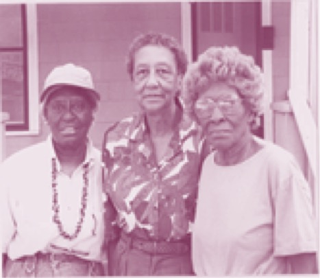 Jewell Hodges, Otha McDuff and Webbie Young, founders and former board members.
